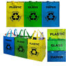 Paper Glass Plastic Recycling Bag Reusable Bin Heavy Duty Recycle Bags SET OF 3
