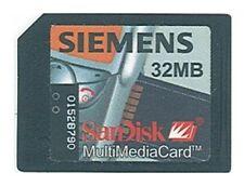 Multimedia Card (MMC) * 32 MB * SanDisk/Siemens