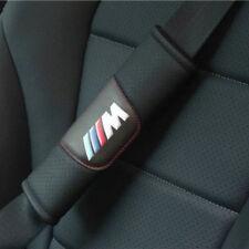 2 Stücke Schwarz Auto Sicherheitsgurt Schulter Kissenbezug Fit Für  BMW M Auto