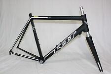 Felt fa marco Kit, rahmenset bicicleta de carreras, racebike, roadbike conjunto de marcos 58cm, Black