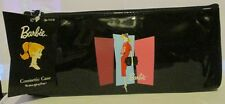 Barbie Vintage Style Black Cosmetic Bag by Schylling RETIRED ~ HIGH QUALITY
