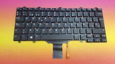 Keyboard SP Dell Latitude 12 5000 E5250 E7250 E7270 0VJC4F Backlit