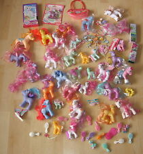 Generation 3 G3 Huge Lot Of My Little Pony Toys Accessories By Hasbro Retired