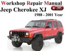 JEEP CHEROKEE XJ 1988 - 2001  WORKSHOP MANUAL service repair