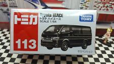 TOMICA #113 TOYOTA HIACE 1/64 SCALE NEW IN BOX