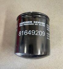 81649209 Oil Filter For Use With Gardner Denver Champion Compressors