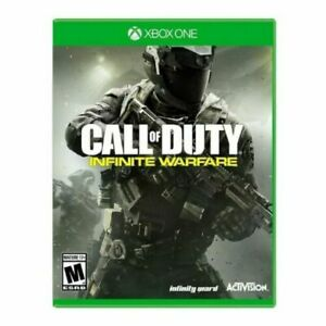 Call of Duty: Infinite Warfare (Xbox One, 2016) GAME DISC & CASE COD ACTIVISION