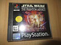 Star Wars Episode I The Phantom Menace PAL PS1 MINT COLLECTORS