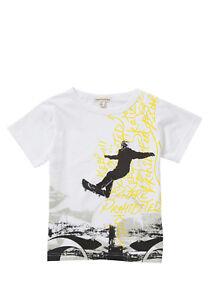 BNWT, T-Shirt, Skateboard, White, Multi-colour, Size 5 yrs, 100% Cotton