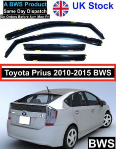 Toyota Prius 2010-2015 BWS Deflectors 4pc UK Stock
