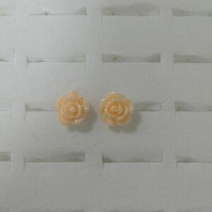 New Gift Womens Lady Girls Elegant Pearl Ear Clip Studs Earrings Flower