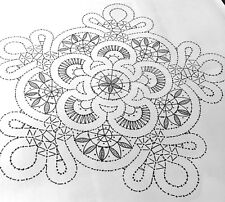 New listing Bobbin Lace Pattern to making Lace Doily Russian style