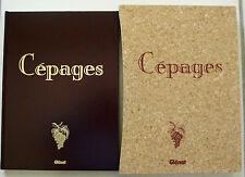 Cepages GALANT Universtité du Vin éd Glénat 1991 + coffret jaquette et carte