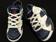 Nike Air Jordan VI 6 Retro 2012 Olympics Toddler Shoes Size 9C 384667-130