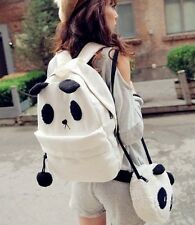 Women Girl Panda Mother & Baby Shoulder Backpack Fashion Handbags Bag Set