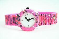 Orologio Hip Hop Graffiti Fucsia HWU0623 nuovo