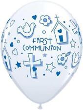 Ballons de fête blanche pour la maison Communion