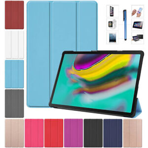 PU Leather Tablet Stand Flip Cover Case For Samsung Galaxy Tab A/A6/E/S3/S4/S5e