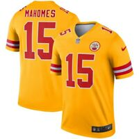 New Nike Kansas City Chiefs Patrick Mahomes #15 Inverted Legend Edition Jersey