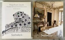 2 Sotheby Auction Catalogs, Collection & Jewels Patricia Kluge, Albemarle