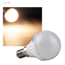 5 luces LED gota E14 blanco cálido, 400lm, Bombilla E-14 230V bombilla
