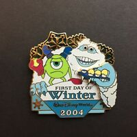 WDW - First Day of Winter 2004 - Monsters Inc. LE 2000 Disney Pin 35490