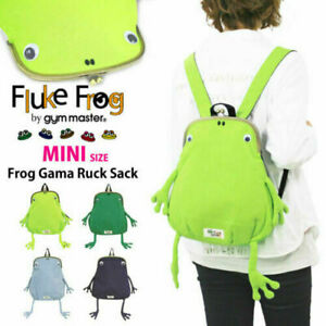 Gym master Frog Frame MINI SIZE Clutch Type Backpack new
