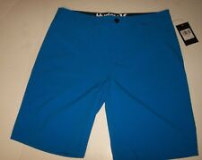 "NEW Hurley ONLY WALKSHORT solid turquoise blue 30 x 20"" performance dri-fit"
