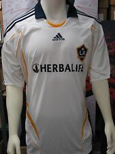 Adidas Los Angeles Galaxy Soccer '07-'08 Home Replica Jersey White Adult XL