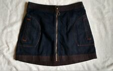 Abercrombie and Fitch Blue Jean Skirt, Ladies Size 0, Excellent Shape