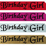 BIRTHDAY GIRLS PARTY SASH NIGHT OUT 16th 18th 20th 21st 30th 40th 50th 60th! w