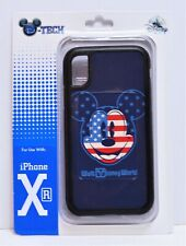 Disney WDW 4th July Patriotic Flag Mickey Apple Iphone 10 XR Cellphone Case NEW