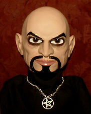 HAUNTED Ventriloquist doll EYES FOLLOW YOU! Anton LaVey dummy puppet prop OOAK