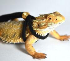 Bearded dragon leash, Reptile adjustable leash, Iguana leash, Reptile harness