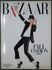 Harper's Bazaar Magazine September 2009 Agyness Deyn Cover Fall Fashion Issue