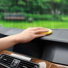 12x Yellow Car Waxing Polish Foam Sponge Wax Applicator Cleaning Detailing Pads