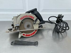 """Corded Porter Cable 345 """"Saw Boss"""" 6"""" HD Circular saw Type 3   9 Amp."""