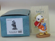 "Disney WDCC Nephew Duck ""I Got Somethin' For Ya""  NEW w/COA Valentines Day Gift"