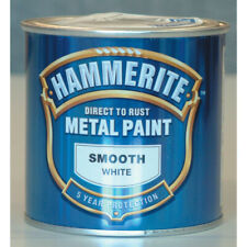 Hammerite Direct to Rust Smooth White Metal Paint - 250ml