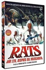 RATS NIGHT OF TERROR (1984) **Dvd R2** Ottaviano Dell'Acqua Bruno Mattei