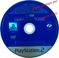 OPS2M DEMO 60 euro - disc jeux Destroy All Human console PS2 PlayStation 2 pal