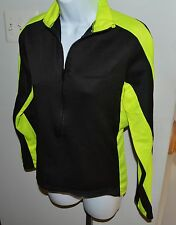 Performance Technical Womens Wear Cycling 1/2 Zip Shirt Jacket Sz S
