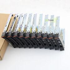 "Lot of 10 2.5"" Drive Tray Caddy IBM x3550 x3650 x3500 x3400 M2 M3 M4 HS12 HS22"