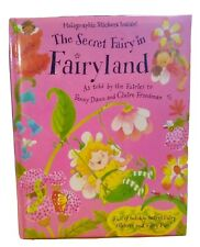 THE SECRET FAIRY IN FAIRYLAND Padded Hardcover Book with Stickers Penny Dann