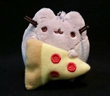 Gund New * Pusheen Blind Box - Pizza *  Blind Box Mini Plush Cat Key Chain