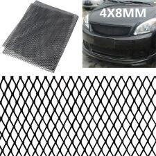 "L-Size 47.2x15.8"" Blk Rhombus Aluminium Racing Grille Mesh Vent Car Tuning Grill"