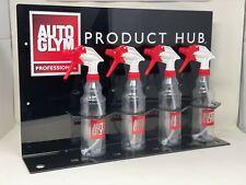 Autoglym Product Hub with 8 Autoglym Spray Bottles