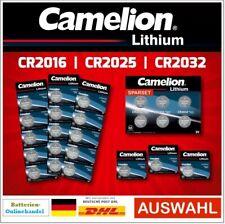 Camelion Lithium Batterien Knopfzellen CR2016 l CR2025 l CR2032  AUSWAHL