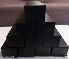 "10 Black Coin Storage Boxes-Single Row (9""x2""x2"") for 2x2s U-DO-ITS Flips Mylar"