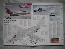 Cutaway Key Drawing of the CASA C.101 Aviojet